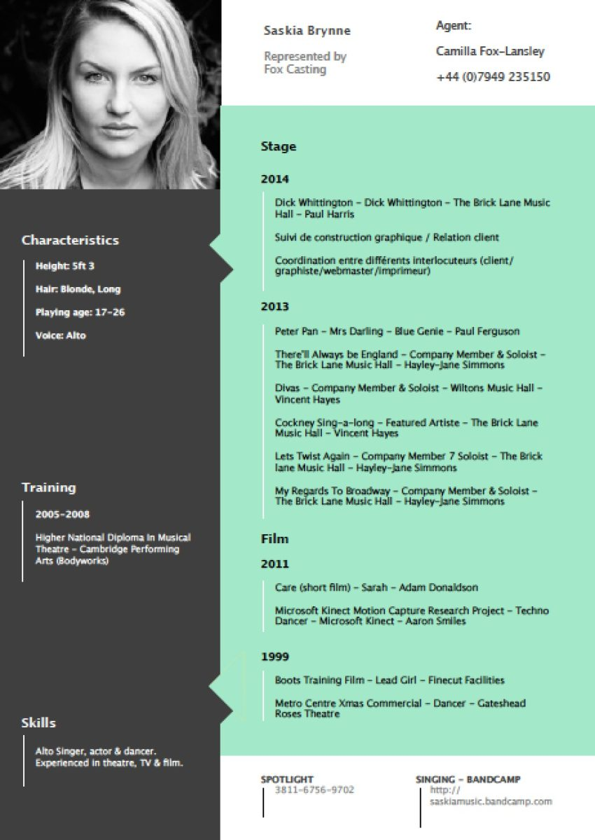 Cv Layout Cv Or Resumes